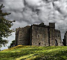 weobley castle by zacco