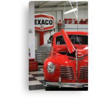Red Hot Ride Canvas Print