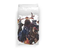 The 4 Knights Duvet Cover