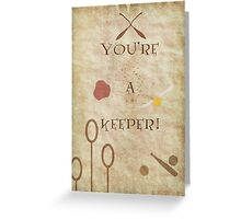 Harry Potter inspired Valentine. Greeting Card