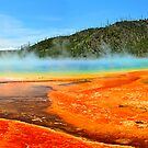Grand Prismatic Spring, Yellowstone National Park by Mark Bolen