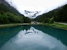 Lake, Liechtenstein by John Douglas