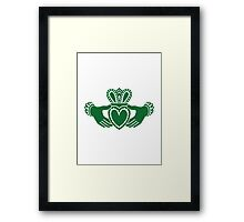Celtic claddagh Framed Print