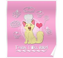 Today I Will Bake! Poster
