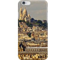 France - Sacre Coeur and City iPhone Case/Skin