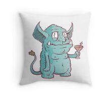 Drunk Goblin Throw Pillow