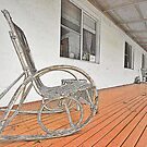 Old Rocking Chair  by George Petrovsky