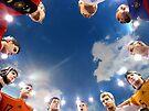 Soccer Players by John Douglas