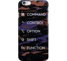 Apple Keyboard Commands iPhone Case/Skin