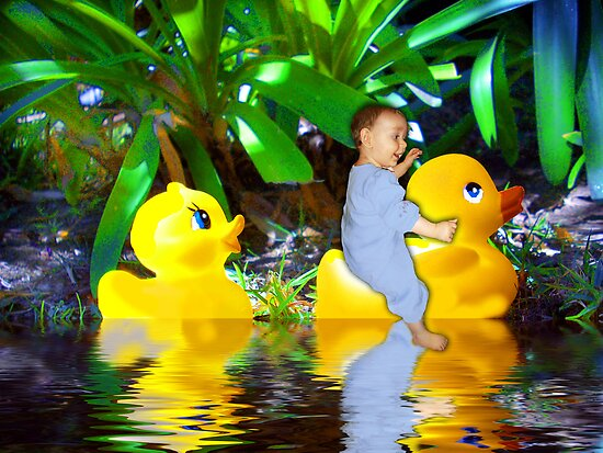 Rubber Ducky Land by Jenifer