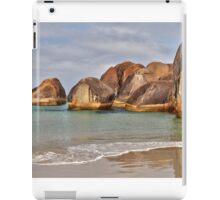 Elephant Rocks. Elephant Cove. WA. iPad Case/Skin