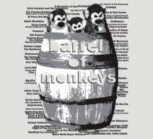Barrel of Monkeys - 1 by Greg Tippett
