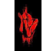 Blood Bath Photographic Print