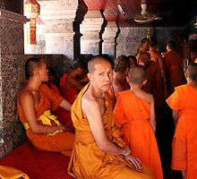 buddhist monk by Steve Scully