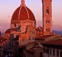 The Duomo at Dusk by SylviaCook