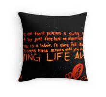 Swing Life Away Throw Pillow