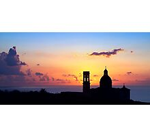 Sunset On Mtahleb Photographic Print