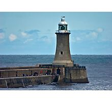 Harbour Light - Whitley Bay. Photographic Print