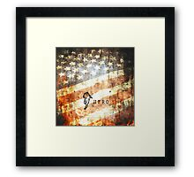 American Firefighter Hero Framed Print