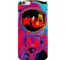 psychedelic astronaught  iPhone Case/Skin