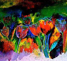 Tulip Symphony by © Janis Zroback