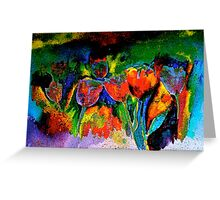 Tulip Symphony Greeting Card