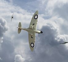 Spitfire - 'You can run...................' by Pat Speirs