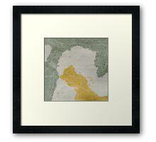 maps 1/2 Framed Print