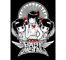 baby metal chibi Photographic Print