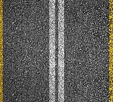 Asphalt Road. by 2monthsoff