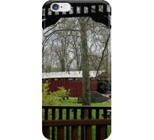 Pool Forge Covered Bridge iPhone Case/Skin