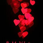 Cascading Hearts_Be My Valentine (Portrait) by Dale Rockell