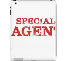 Smart Good Looking Special Agent T-shirt iPad Case/Skin