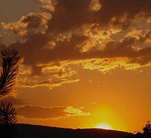 Okanogan Sunset by Gregory Ewanowich