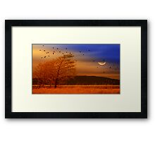 Against the W i n d Framed Print