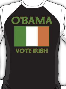 Vote Irish Vote Obama T-Shirt