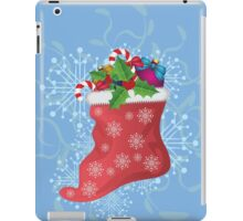 Christmas sock 2 iPad Case/Skin