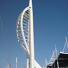 spinnaker tower 01 by Richard Edwards