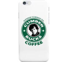 Cumberbucks Coffee - Superior to  Moriar Tea iPhone Case/Skin