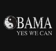 Yin Yang Obama Yes We Can! by barackobama