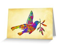 Peace Dove Art Greeting Card