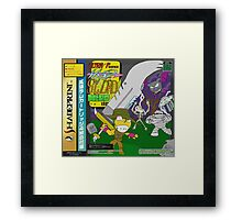 Super Power Hyper Sword Hero [CD Case insert] Framed Print
