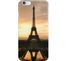 Sale! The Eiffel Tower! Sunset! iPhone Case/Skin