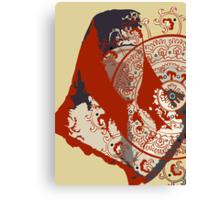BABUSHKA LADY  Canvas Print