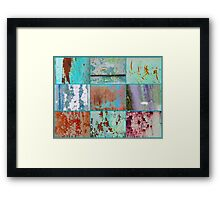 Colors  - JUSTART ©  Framed Print