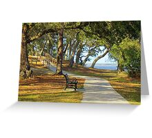 Sit By The River Greeting Card