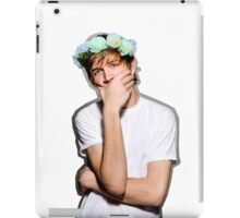 Bo Burnham Flower crown iPad Case/Skin