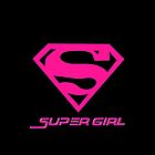 Pinky Super Girl  by refreshdesign