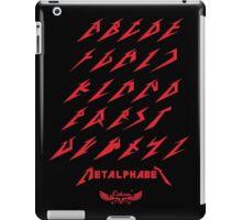Metalphabet by lilterra.com iPad Case/Skin