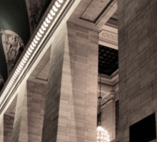Grand Central Terminal Columns Sticker